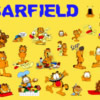 Cartoons Garfield Garfield collage orange 886